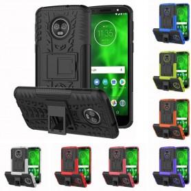 Slagbestandig Motorola Moto G6 Plus mobiltelefon skall