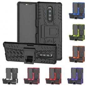 Støtsikker skall med stativ Sony Xperia 1 mobil deksel caseonline