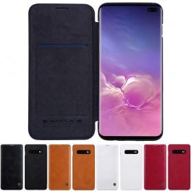 Nillkin Qin FlipCover Samsung Galaxy S10 Plus (SM-G975F) mobil shell caseonline
