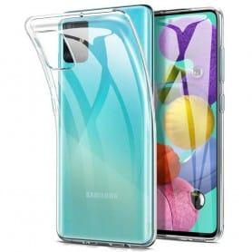 Silikonetui Gjennomsiktig Samsung Galaxy A71 (SM-A705F)